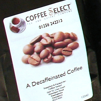 cruz coffee beans decaf
