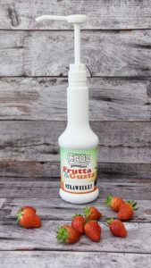 Cruz Milkshake Strawberry Puree