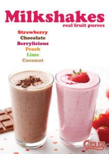 milkshakes poster
