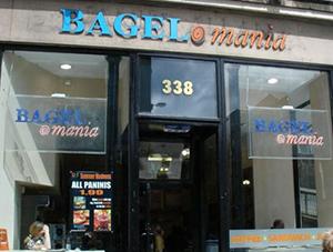 review bagel mania