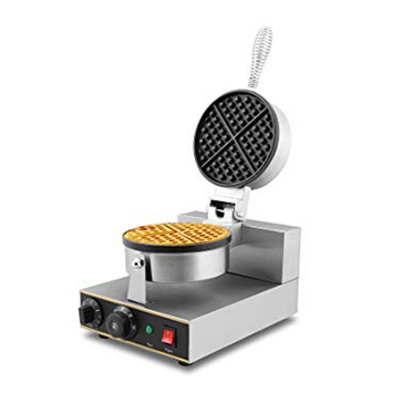 cruz commercial crowner round waffle iron