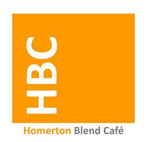 review homerton blend cafe logo