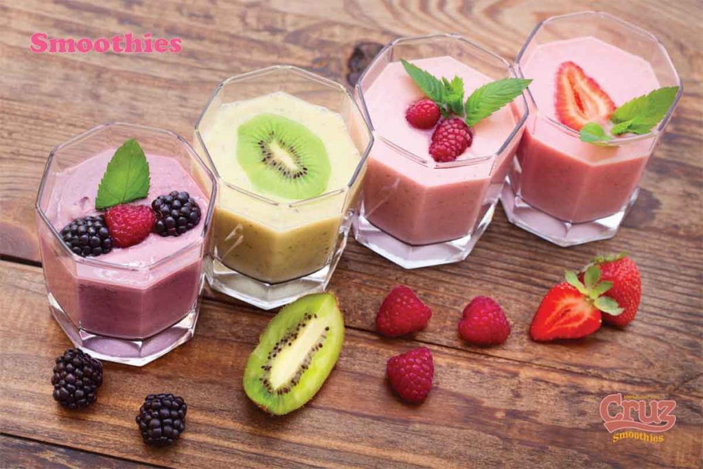 Experiment with smoothies