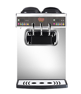 yogcruz 30 frozen yogurt and ice cream machine double serve