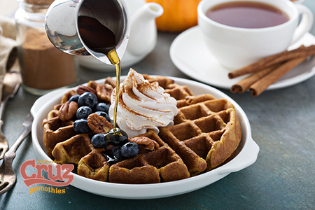 Cruz point of sale cold press waffles
