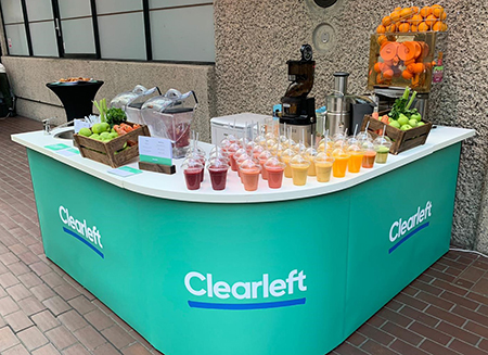 Clearleft juice bar review