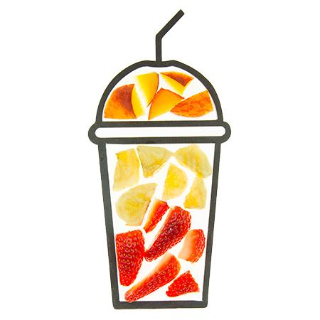cruz smoothie ingredients cups pebble peach