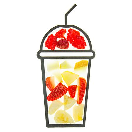 cruz smoothie ingredients cups strawmelon sierra