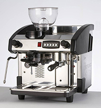 eclipse 1 group espresso coffee machine with grinder