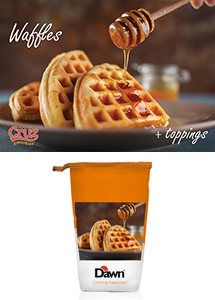 Cruz ingredients Dawn waffle mix