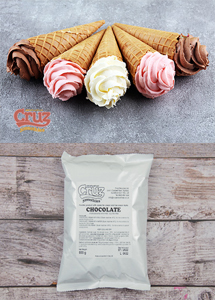 yogcruz frozen yogurt ice cream ingredients chocolate