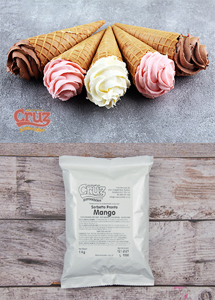 yogcruz frozen yogurt ice cream ingredients mango