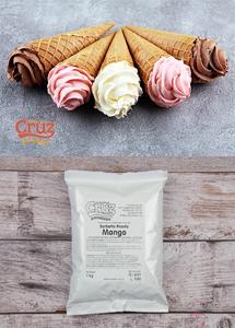yogcruz frozen yogurt ice cream ingredients mango