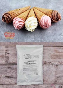 yogcruz frozen yogurt ice cream ingredients natural