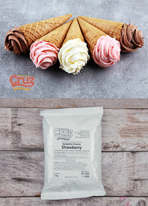 yogcruz frozen yogurt ice cream ingredients strawberry