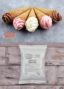 yogcruz frozen yogurt ice cream ingredients wild fruits