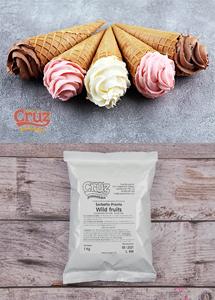 yogcruz frozen yogurt ice cream ingredients wild fruits